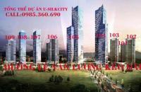 Bán căn hộ Usilk City, nhận nhà ở ngay, dt 88.2m2, với giá 17tr/m2 sđcc, hotline: 0985 360 690