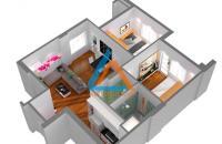 Bán căn hộ chung cư Mipec Hà Đông, diện tích 60.4m2 full nội thất sàn gỗ