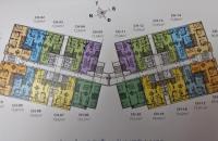 Cần bán căn hộ chung cư 87 Lĩnh Nam, tầng 1602 tòa N03 DT 75.89m2, giá bán 22tr/m2. LH 0983625633