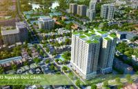 Bán căn số 03H2 tầng 10 chung cư HUD3 Nguyễn Đức Cảnh diện tích 90m2 với 3 phòng ngủ căn góc