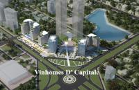 Vinhomes D'Capitale Trần Duy Hưng ck 11%, hỗ trợ VVNH 65%, LS 0% quý IV/2018