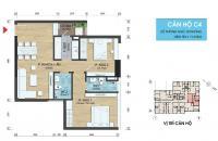 Bán CHCC tại dự án chung cư 282 Nguyễn Huy Tưởng, Thanh Xuân, Hà Nội, DT 71m2, giá 25 triệu/m²