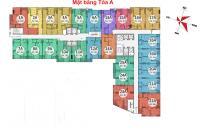 Bán chung cư Gemek Tower tòa A 2603, diện tích 83.8m2, giá bán 14 tr/m2