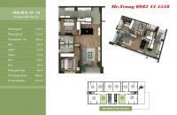 Bán căn 01 tòa NO3T2 Taseco về ở ngay, 86,68m2, 2PN, 2WC. Giá 29.5 triệu/m2