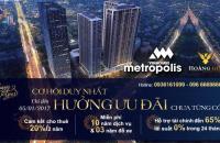 Cơ hội đầu tư sinh lời với chính sách siêu khủng dự án cao cấp hàng đầu Vinhomes Metropolis