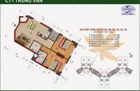 Gấp chính chủ bán căn hộ 72m2 tòa CT1 Trung Văn Vinaconex 3 giá rẻ 24tr/m2