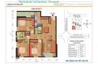 Chính chủ bán căn góc 110m2 Taseco Ngoại Giao Đoàn, 2,6 tỷ ở ngay