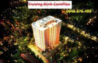 Bán căn hộ chung cư căn góc 3 phòng ngủ, giá chỉ 2,1 tỷ. LH: 0968317986