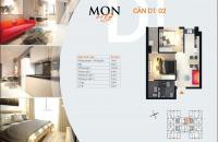 Bán cắt lỗ căn hộ Mon City, DT: 61,5 – 67m2, giá bán: 30tr/m2, LH: 0983.726.129