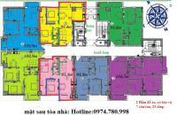 Chính chủ cần bán gấp căn hộ Intracom 2 Cầu Diễn hướng Tứ trạch, có sổ đỏ, 0974.780.998