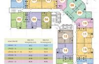 Chính chủ cần bán căn hộ chung cư CT2B Nghĩa Đô, tầng 1015. DT: 75.14m2, 25tr/m2 bao phí sang tên