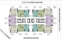 Chính chủ cần bán gấp căn hộ 76m2, căn góc đẹp nhất dự án FLC Green Home 18 Phạm Hùng