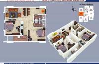 Bán căn 2 phòng ngủ chung cư B1B2 Tây Nam Linh Đàm