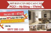 Chung cư PCC1 Complex Hà Đông - Nhận nhà ở ngay chỉ 850 triệu