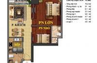 Cần bán cắt lỗ căn hộ Times city 75 m giá net 2.55 tỷ. lh: 090 454 4852