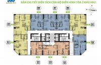 Cần bán gấp căn hộ chung cư FLC Garden City căn tầng 2005, DT 66m2, giá bán 16tr/m2