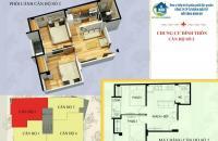 Chung cư Đình Thôn 820 tr, 42m2, 2 phòng ngủ, full nội thất, mới