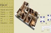 LH: 0941/244/723 gia đình cần bán căn hộ căn 02V1 3PN chung cư Home City, 97,64m2