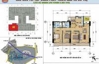 Bán gấp căn hộ 3PN, 107.59m2 hướng ĐN, số 402 tòa VP2 bán đảo Linh Đàm. LH: 0974969399