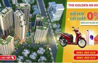 1 tỷ mua chung cư Golden An Khánh cách Big C Thăng Long 10 phút đi xe: 0981005010