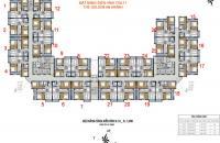 Bán lại căn 1805 - 2 phòng ngủ - 2 phòng vệ sinh - Golden An Khánh - Căn góc 1.06 tỷ