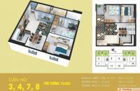 Bán căn hộ chung cư Tabudec Plaza, Thanh Trì, Hà Nội. Diện tích 73,7m2, giá 1,3 tỷ