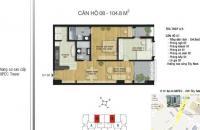 MIPEC 229 Tây Sơn- Cần bán căn số 6 toà A, rộng 82 m2