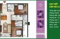 Bán chung cư Ngoại Giao Đoàn tòa N04B, 99,63m2, 2 phòng ngủ, 2 WC, nhận nhà ngay. LH 0986329050