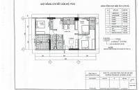 Bán gấp căn 18.16 chung cư CT2 Yên Nghĩa 78.97m2/3PN/ 10tr/m2 liên hệ chính chủ