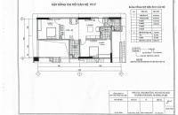 Chuyển căn to bán gấp căn 1717 chung cư CT2 Yên Nghĩa, 2 PN, bán giá: 10.7tr/m2