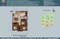 Bán căn hộ 3 phòng ngủ chung cư B1B2 Linh Đàm. Diện tích 100,87m2