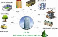 Chung cư FLC GreenHome 18 Phạm Hùng, chỉ 450 triệu có nhà trung tâm Mỹ Đình