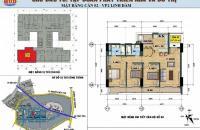 Cần bán căn hộ tại VP2 Linh Đàm căn số 2 (căn góc 3 phòng ngủ)