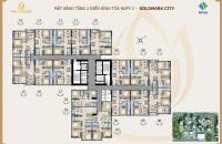 Bán chung cư Golmark City Ruby 2, 83,46m2, tầng 1616, giá rẻ 25tr/m2, BC đông nam. LH 0982.525.423