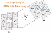 Bán căn số 10 chung cư B1B2 Linh Đàm, Hoàng Liệt, Hoàng Mai, Hà Nội