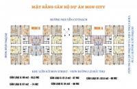 Chính chủ cần bán cắt lỗ chung cư Mon City, DT: 61,5m2, tầng 1610, giá 28tr/m2. LH: 0981129026