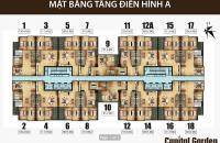 Bán căn hộ cc diện tích 111,9m2 dự án Capital Garden, giá 33tr/m2