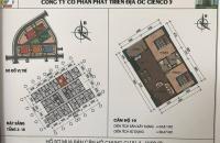 Bán căn hộ 65m2 chung cư Thanh Hà Cienco 5 giá gốc chỉ 10,5 triệu/m2