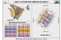 Bán căn góc view hồ chỉ 10 triệu/m2 chung cư HH01A Thanh Hà Cienco 5