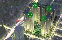 Cần bán gấp căn hộ 1015 toà CT4, DT 55m2, chung cư Eco Green City, mặt đường Nguyễn Xiển