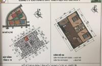 Chỉ 134 triệu có ngay căn hộ 2 phòng ngủ chung cư Thanh Hà Cienco 5