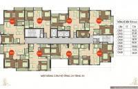 Chính chủ cần tiền bán căn hộ 89 Phùng Hưng, diện tích 58,78m2, 2PN, 2 vệ sinh 0934658193-0963922012