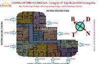 Chính chủ cần bán chung cư SME Hoàng Gia căn 25C2 DT 105m2, giá 15tr/m2. LH 0934568193