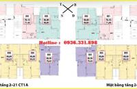 Gia đình không dùng đến nên bán lại 2 căn hộ CC Thông Tấn Xã, tòa A, căn 16A01 giá bán thu hồi vốn