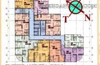 Gấp, bán cắt lỗ căn C6 tầng 12 chung cư SME Hoàng Gia, giá 15tr/m2, có thương lượng LH: 0963166736