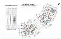 Làm ăn thua lỗ cần bán gấp căn 05B CC CT1 Thạch Bàn, Long Biên, 98,69m2, giá 13 tr/m2. LH 0936389