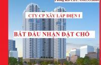 Công ty CP Xây lắp điện I: Mở bán Mỹ Đình Plaza 2, giá gốc đợt 1, ưu đãi trực tiếp CĐT, 0981938680