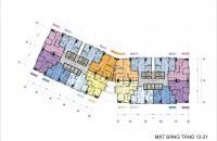 (Suất ngoại giao) 5,1 tỉ căn 110 m2, tầng cao, ban công Đông Nam, view hồ. Dự án 36 Hoàng Cầu