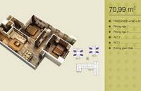 Bán căn 03 tòa V1 chung cư Home City, 2 p/ngủ, dt 70.99m2, liên hệ: 0978967149