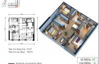 Chính chủ cần bán gấp chung cư Eco Green Nguyễn Xiển căn 07 CT4 diện tích 97,87m, ban công Đông Nam